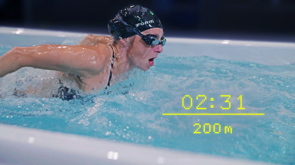 We are pleased to announce that FORM goggles now support swimming in swim spas!