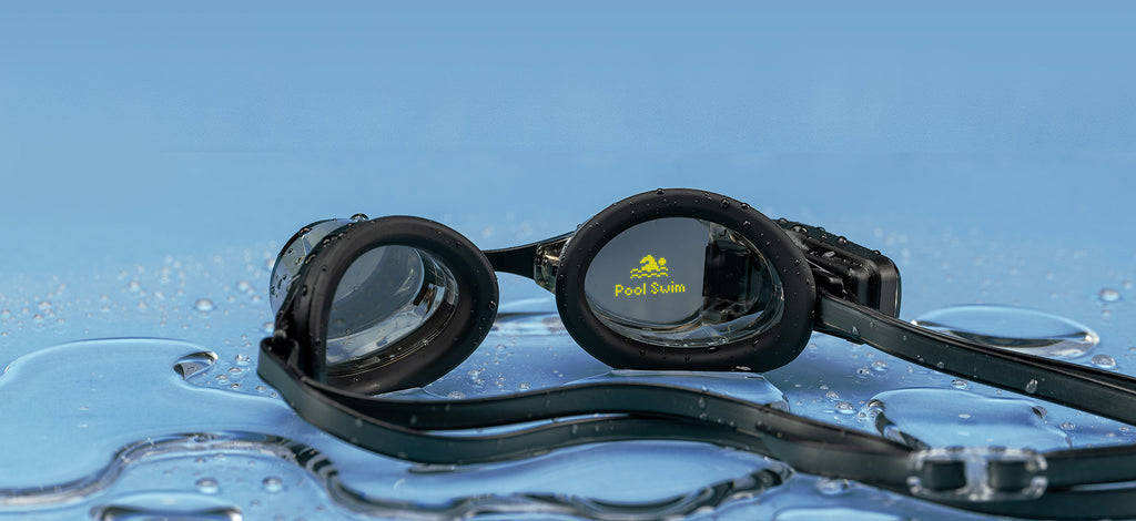 The FORM Smart Swim Goggles deliver metrics in real time