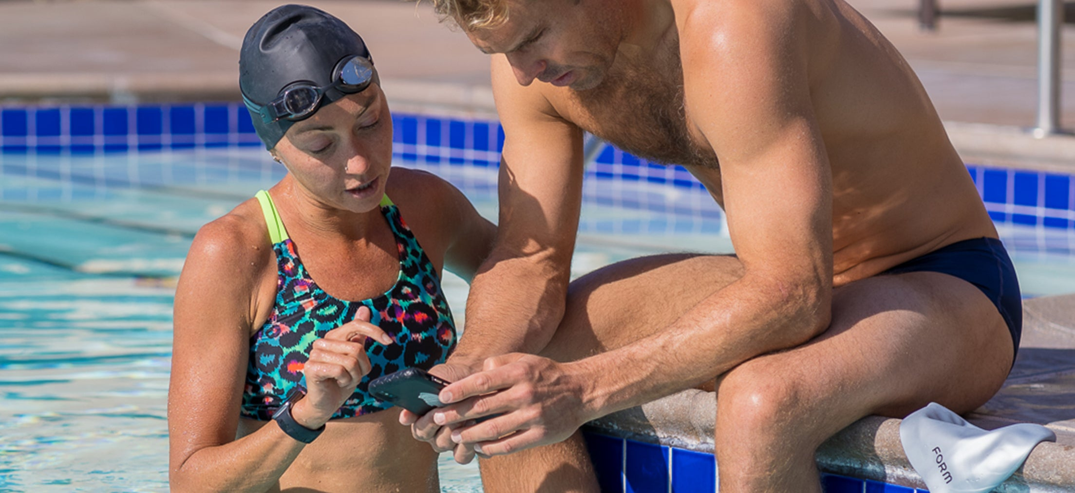 FORM swim app provides the data to reflect on after your swim.