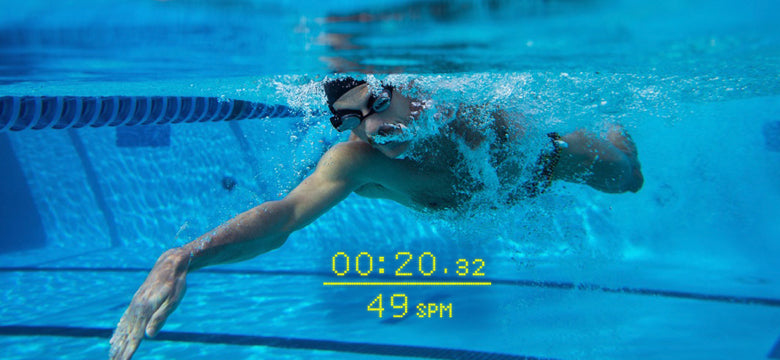 stroke rate in form smart swim goggles display