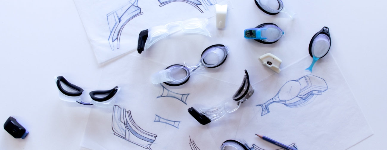 Prototypes of FORM Goggles
