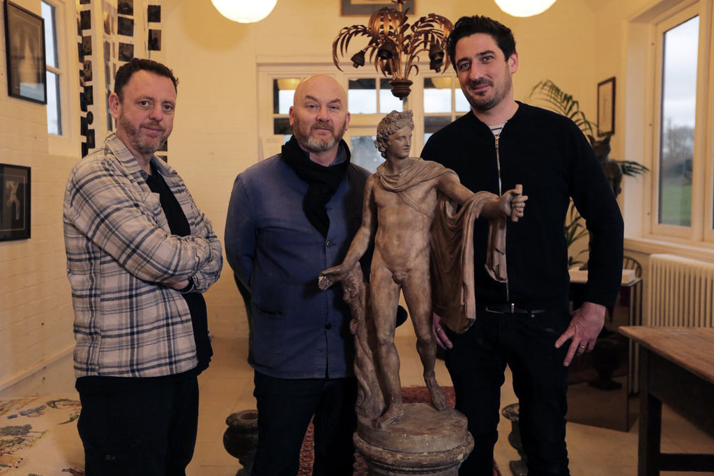Salvage Hunters visit the Old Forge