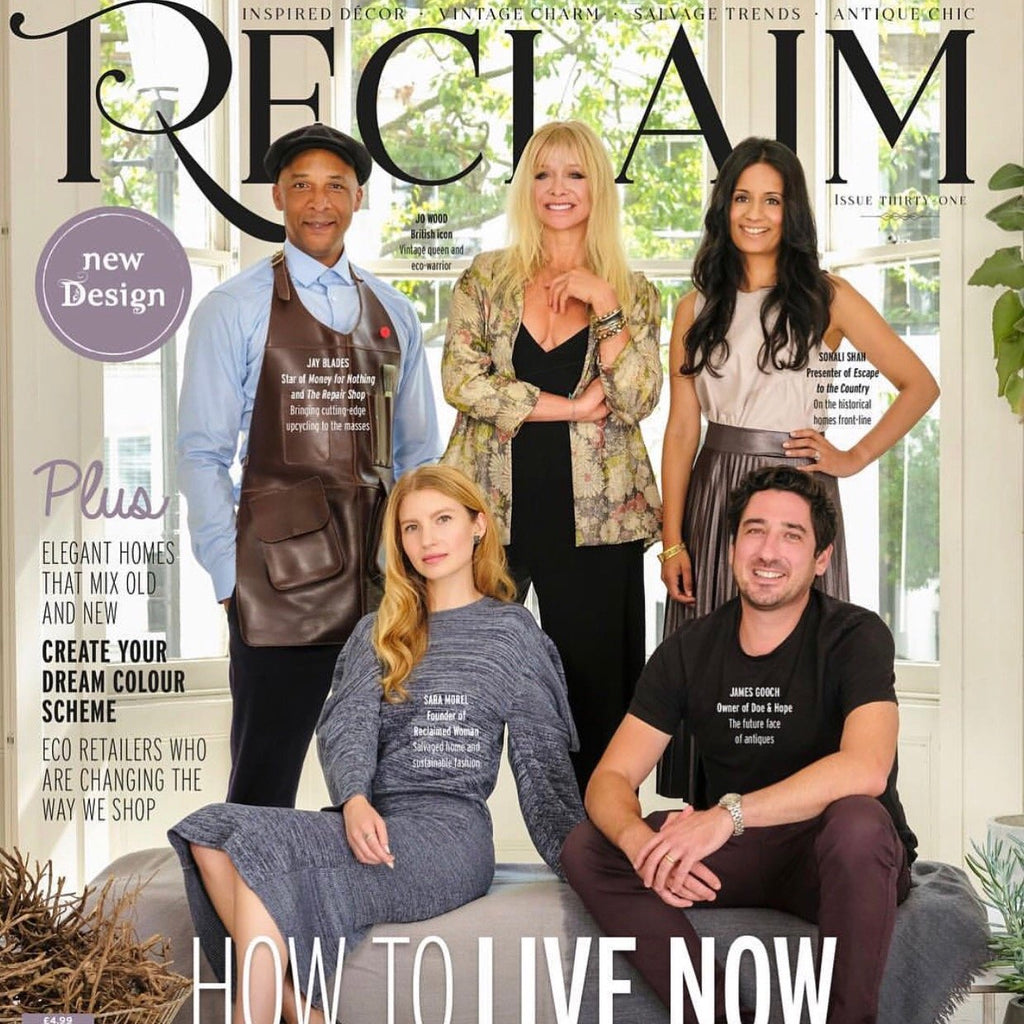 Reclaim Magazine October 2018; How to Live Now