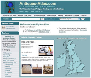 featured on antiques atlas