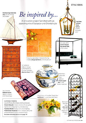 featured in period living
