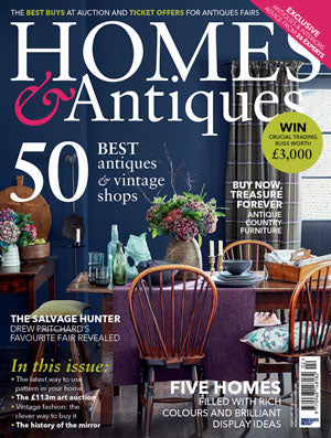 Doe & Hope featured on Homes & Antiques February 2016