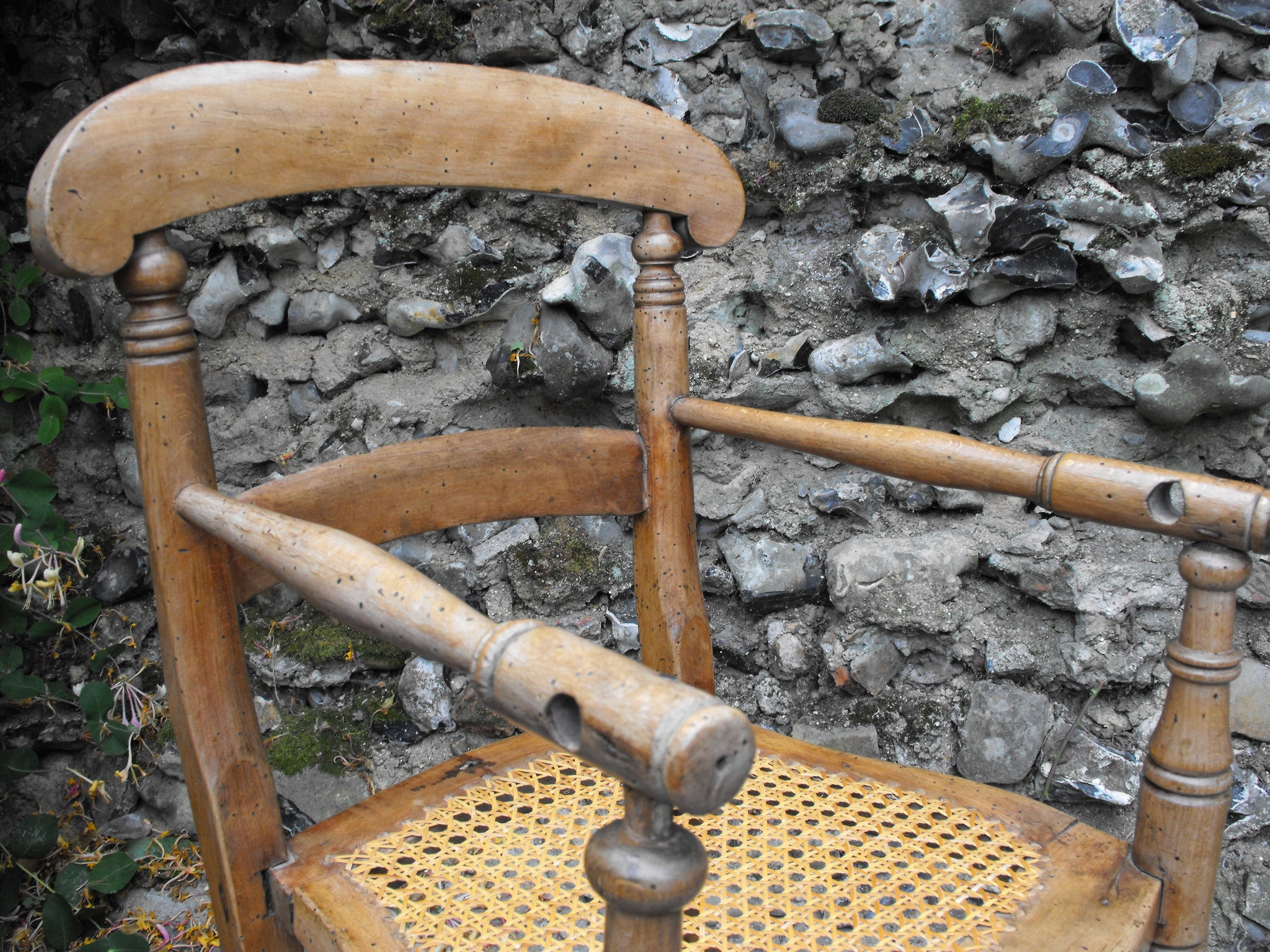 A Delightful Early Victorian Ash & Sycamore Child's High Chair