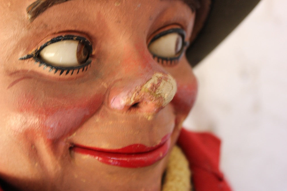 A Superb Quality Early 20th Century Ventriloquist's Dummy