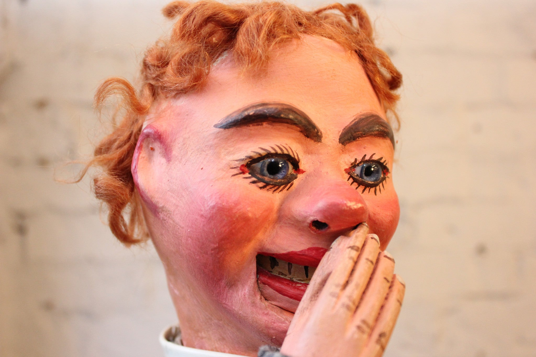A Fine Quality Early 20thC Ventriloquist's Dummy Attributed to Arthur Quisto