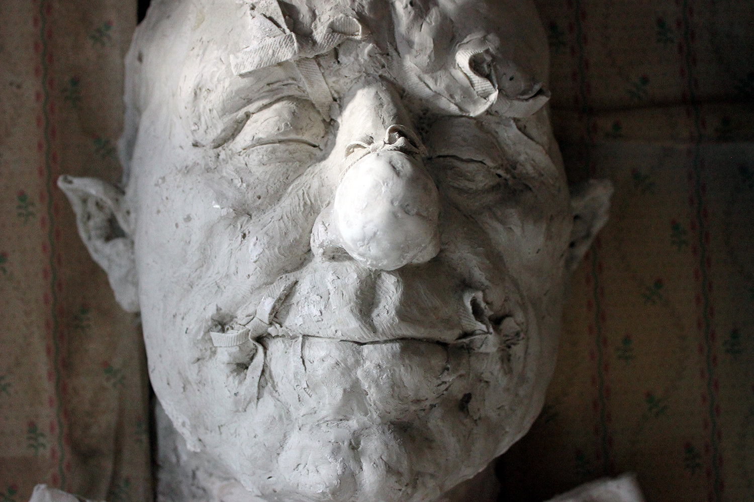 Beth Carter; 'Big Old Clown Mask'; Jesmonite & Plaster; Unique