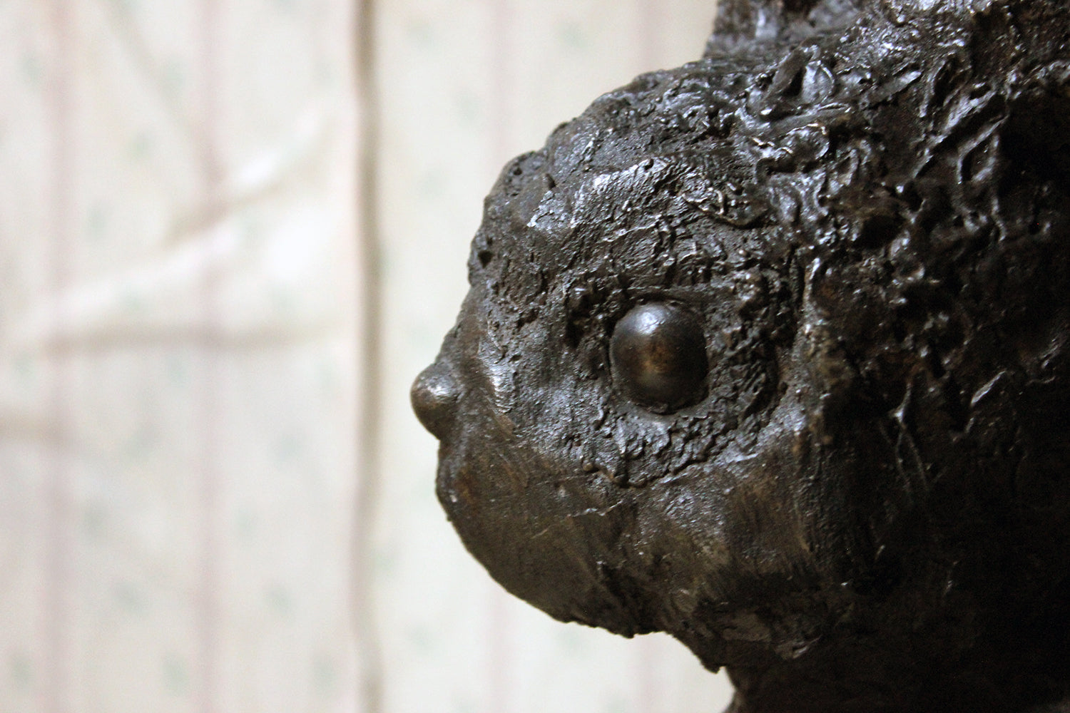 Beth Carter; Buck Rabbit; Bronze Resin & Jesmonite; Edition 4 of 15