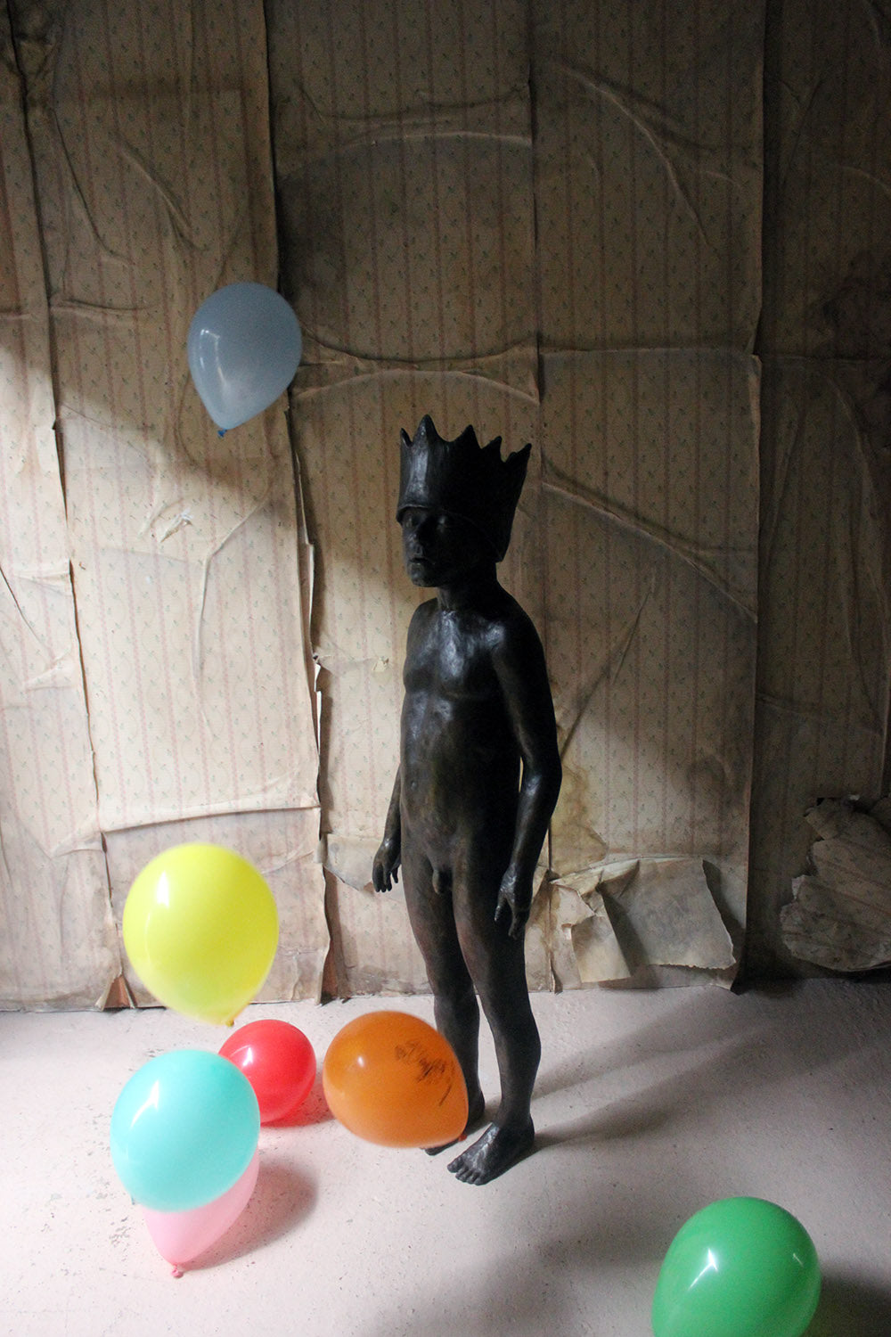 Beth Carter; Dreaming King; Bronze Resin; Edition 6 of 15