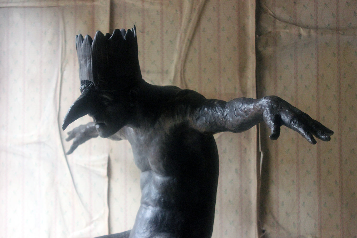 Beth Carter; King of The Birds; Bronze Resin; Edition 5 of 15