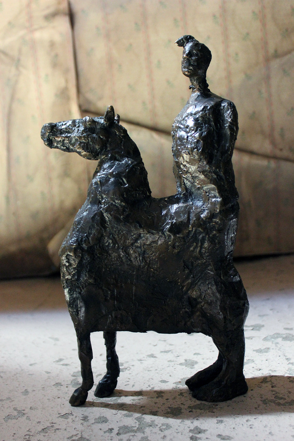 Beth Carter; Pantomime; Bronze; AP; Unique; c.1996