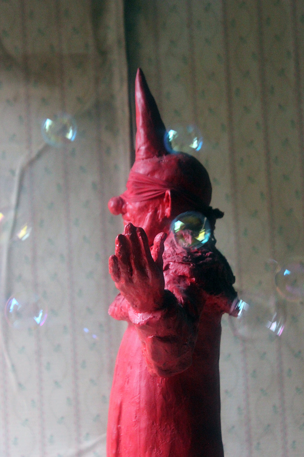 Beth Carter; Clown; Red Resin; Edition 1/15