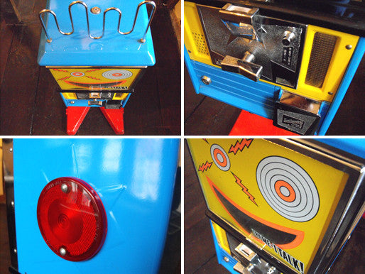A Vintage American 'Mouthy Marvin' Talking Gumball Machine