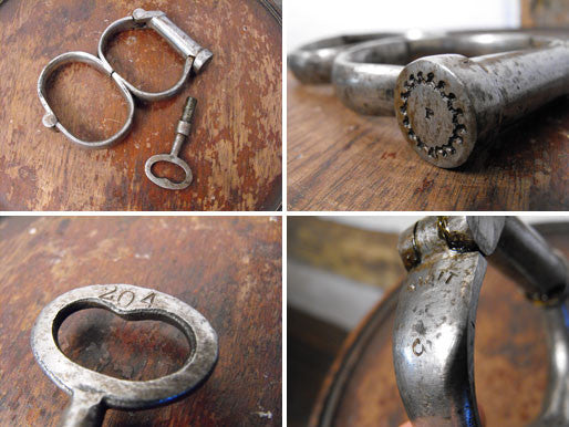 Victorian Hiatt Irish 8 Handcuffs