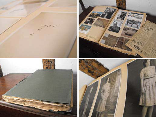 A Remarkable 1930s Ephemera Family Scrap Album, To Include Shots of Alan Cobham's Flying Circus