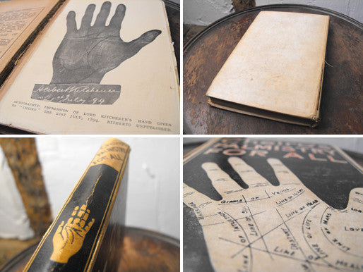 Count Louis Hamon 'Cheiro' Palmistry For All, Second Edition c.1916