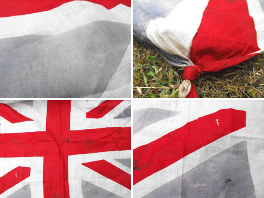 An Attractive British Vintage Printed Union Jack Flag
