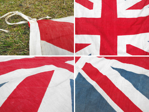 A Superb British Vintage Printed Union Jack Flag