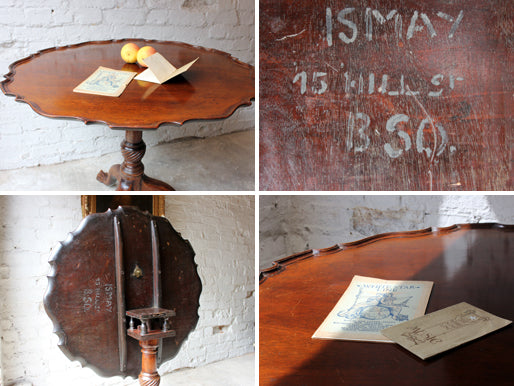R.M.S. Titanic: An Important George III Mahogany Supper Table Formerly Owned by J.Bruce Ismay
