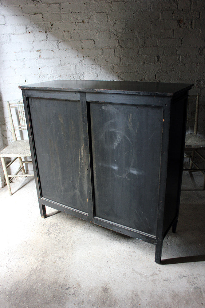 A Good Quality Aesthetic Movement Ebonised Cabinet in the Manner of E.W.Godwin c.1880