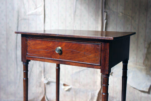 A George III Mahogany Side Table c.1800