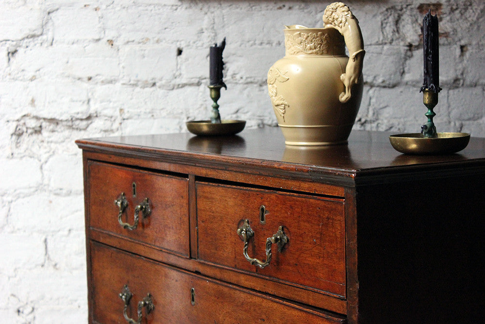A Delightful Small George III Mahogany Chest of Drawers c.1760-70
