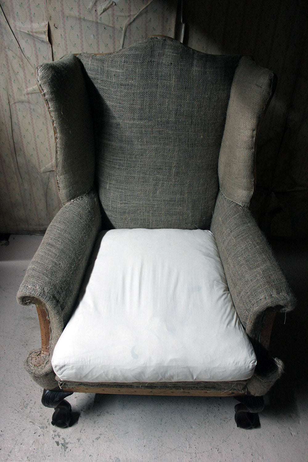 A George III Style Wingback Armchair c.1910