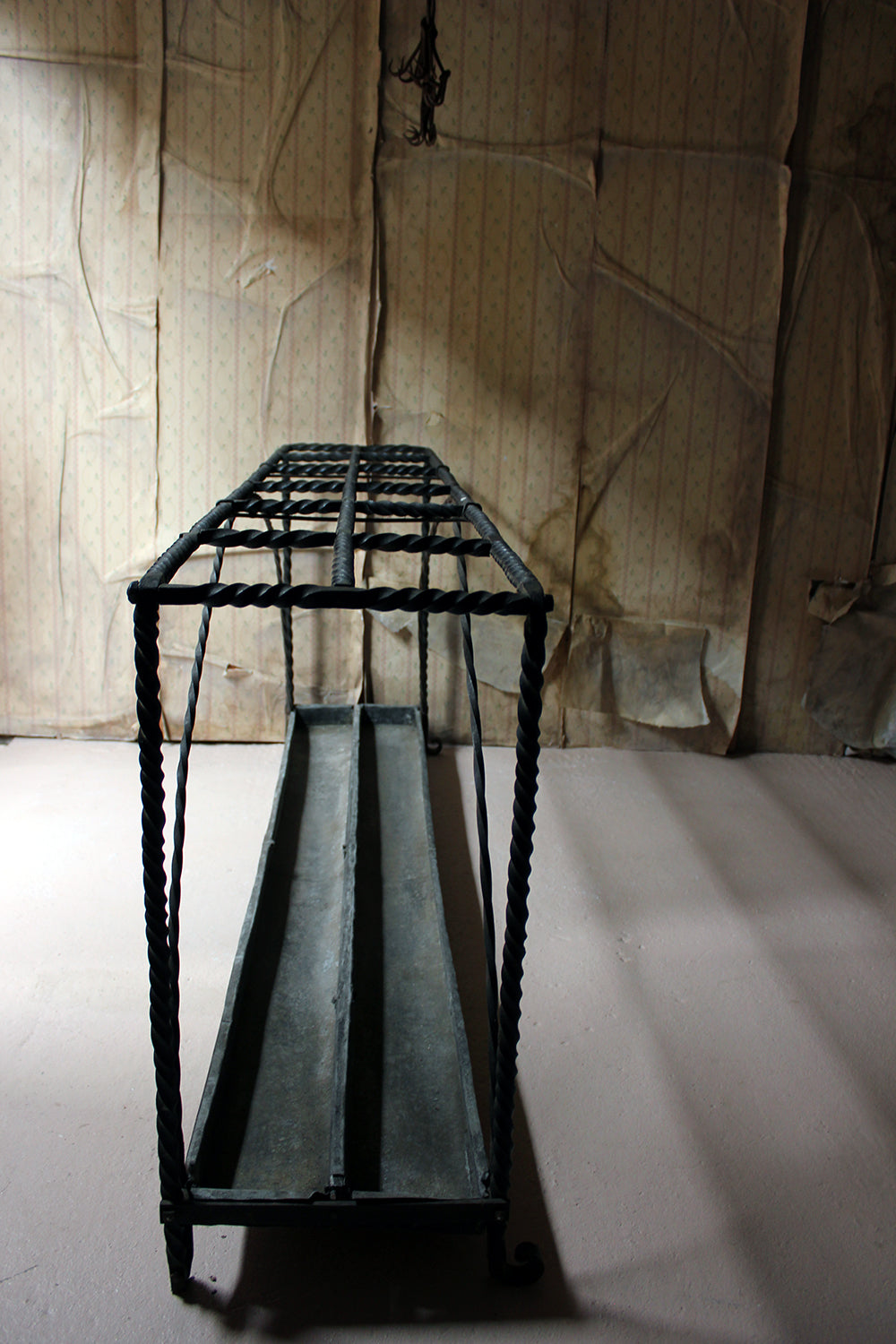 A Very Large Country House Wrought Iron Stick Stand c.1870
