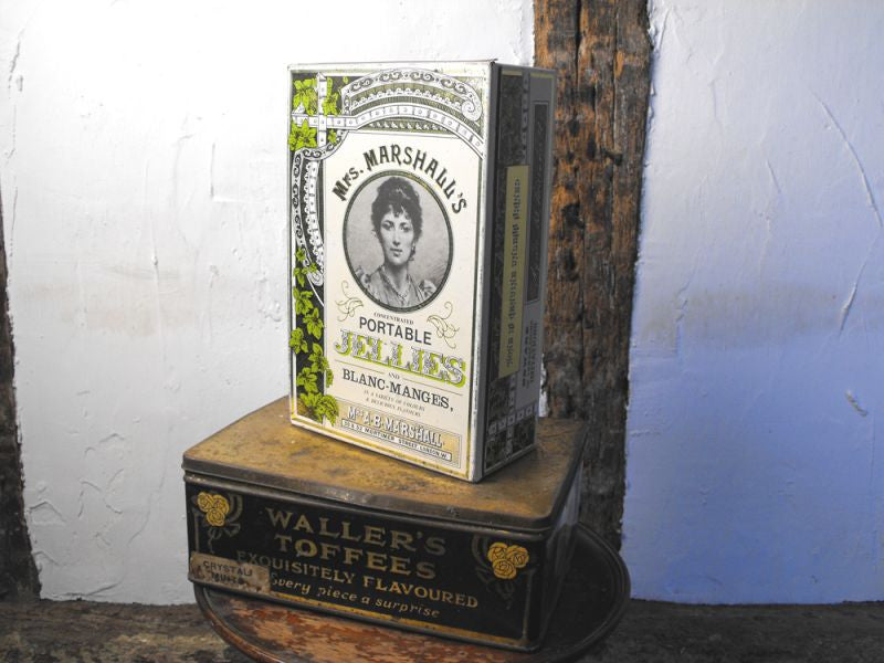 A Pair of Attractive & Early Antique Tins, to include one Huntley Boorne & Stevens Example