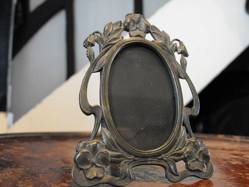 A Delicately Proportioned Art Nouveau Photograph Frame