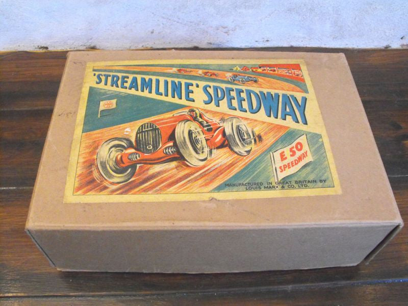 A Boxed, Complete & Ready To Use, MAR Streamline E50 Speedway by Louis Marx & Co. Ltd