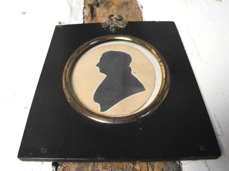 A Charming Late 18thC American Silhouette by Master Hubard