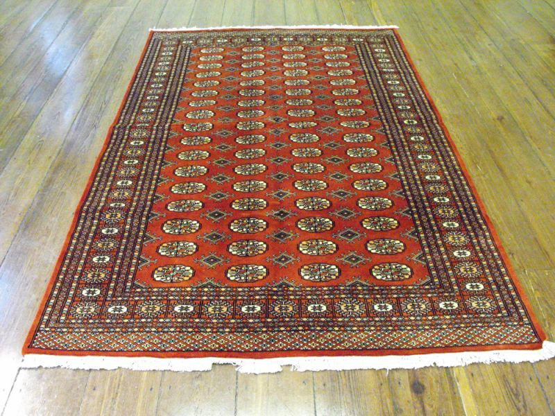 A Contemporary Pakistan Bokhara Carpet: 247cm x 158cm