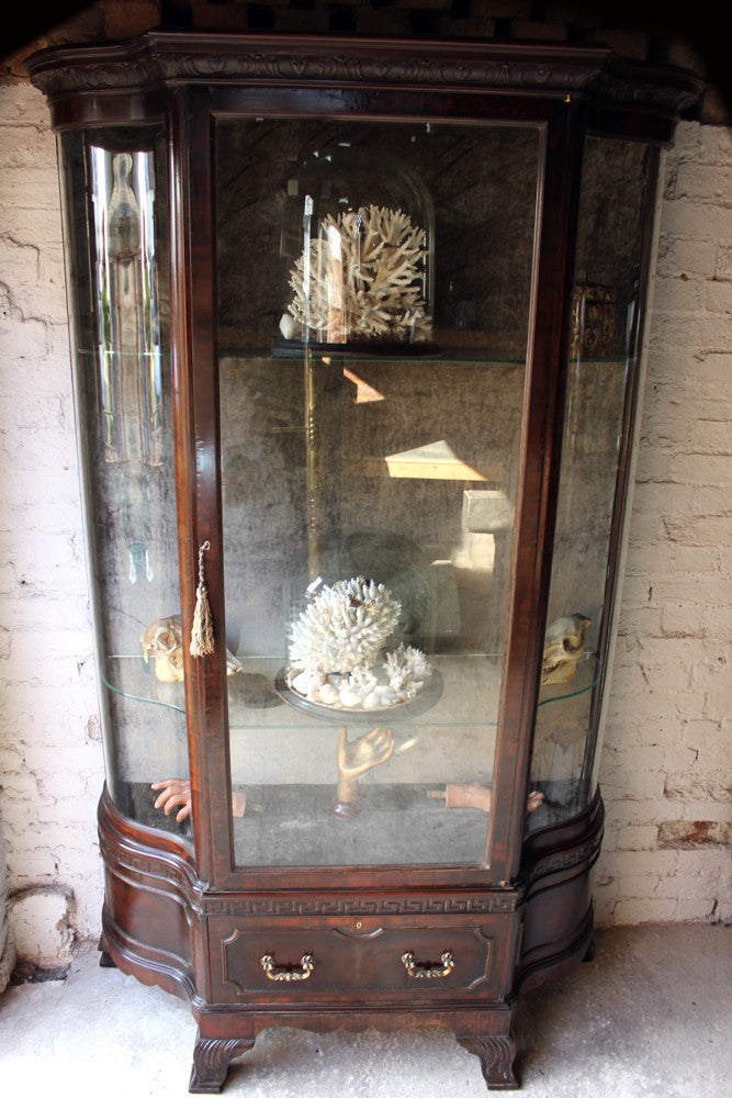 An Exceptionally Fine Mahogany c.1900 Gillows of Lancaster Display Cabinet