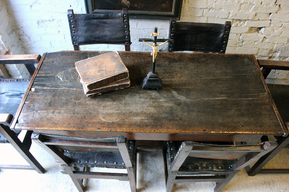 A Wonderful 17thC English Oak Refectory Table
