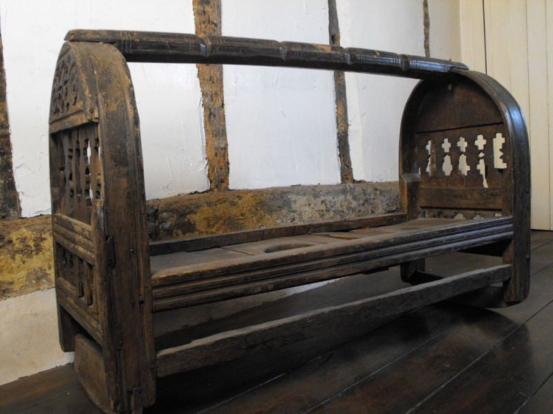 A Fine & Unusual 18th Century Kalash Cradle