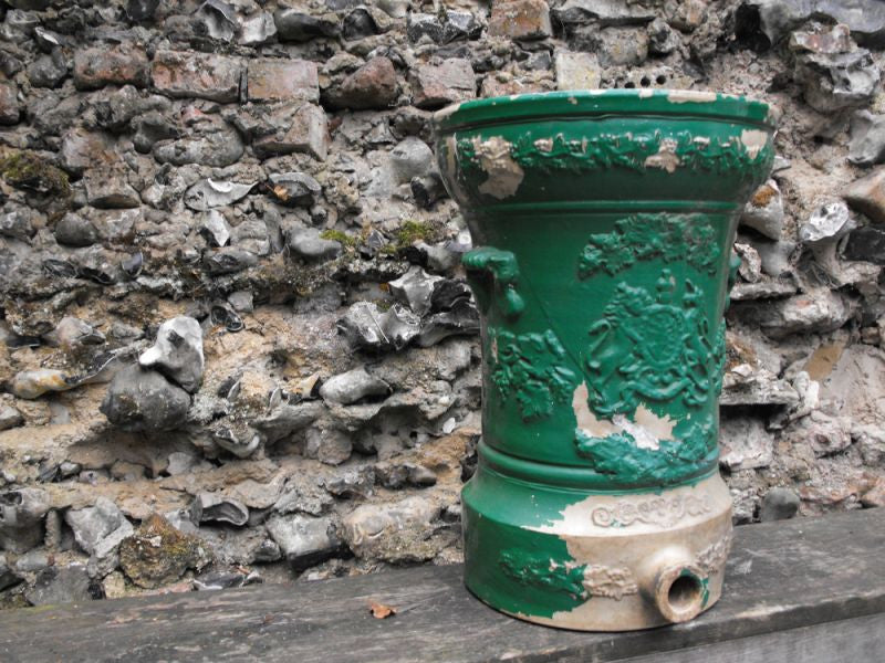 A Large & Decorative Victorian Period Stoneware Water Filter