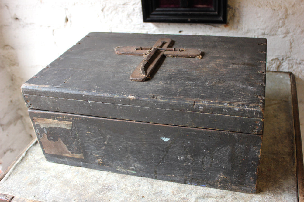 A Rare Primitive Antique Vampire Slaying Kit