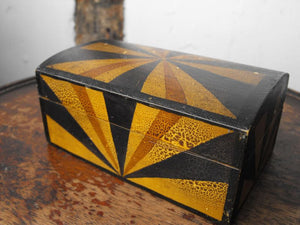 A Striking Art Deco Cigarette Box, Inscribed & Dated 1931