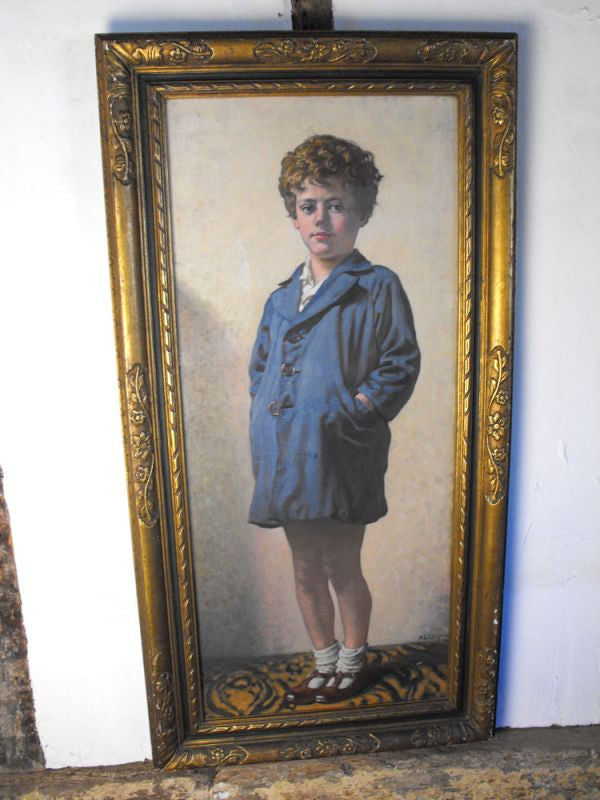 "An Exceptional Original Full-Length Portrait of ""Peter"" by Alfred Egerton Cooper (1883-1974), RBA."