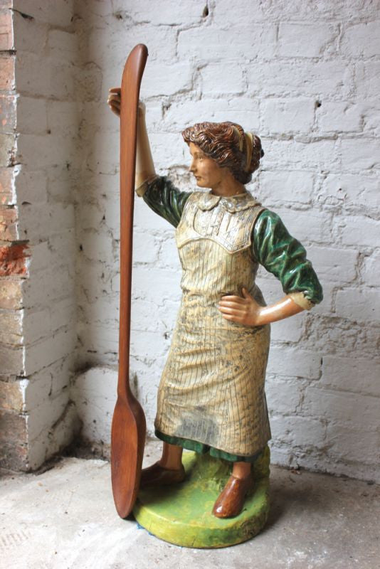 An Unusual 19thC Stoneware Advertising Shop Window Display Figure