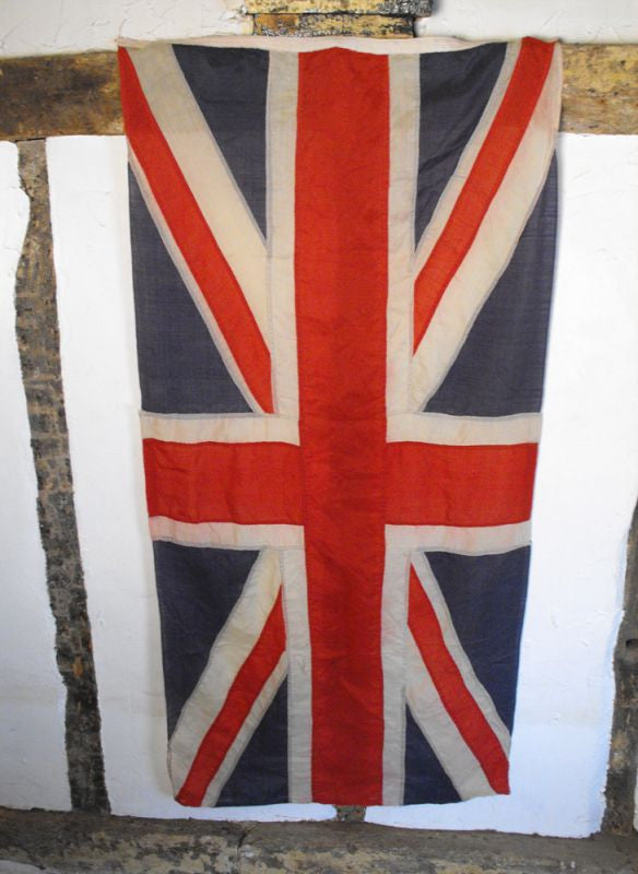 A Very Large Vintage Union Jack Flag