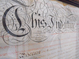 Three Early Victorian Legal Manuscript Indentures, Relating To John Smyth