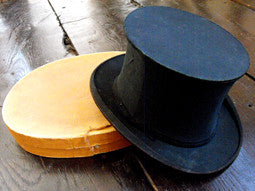 An Early 20thC Gibus-style Collapsible Top Hat, by Austin Reed of Regent Street, in Original Card Box