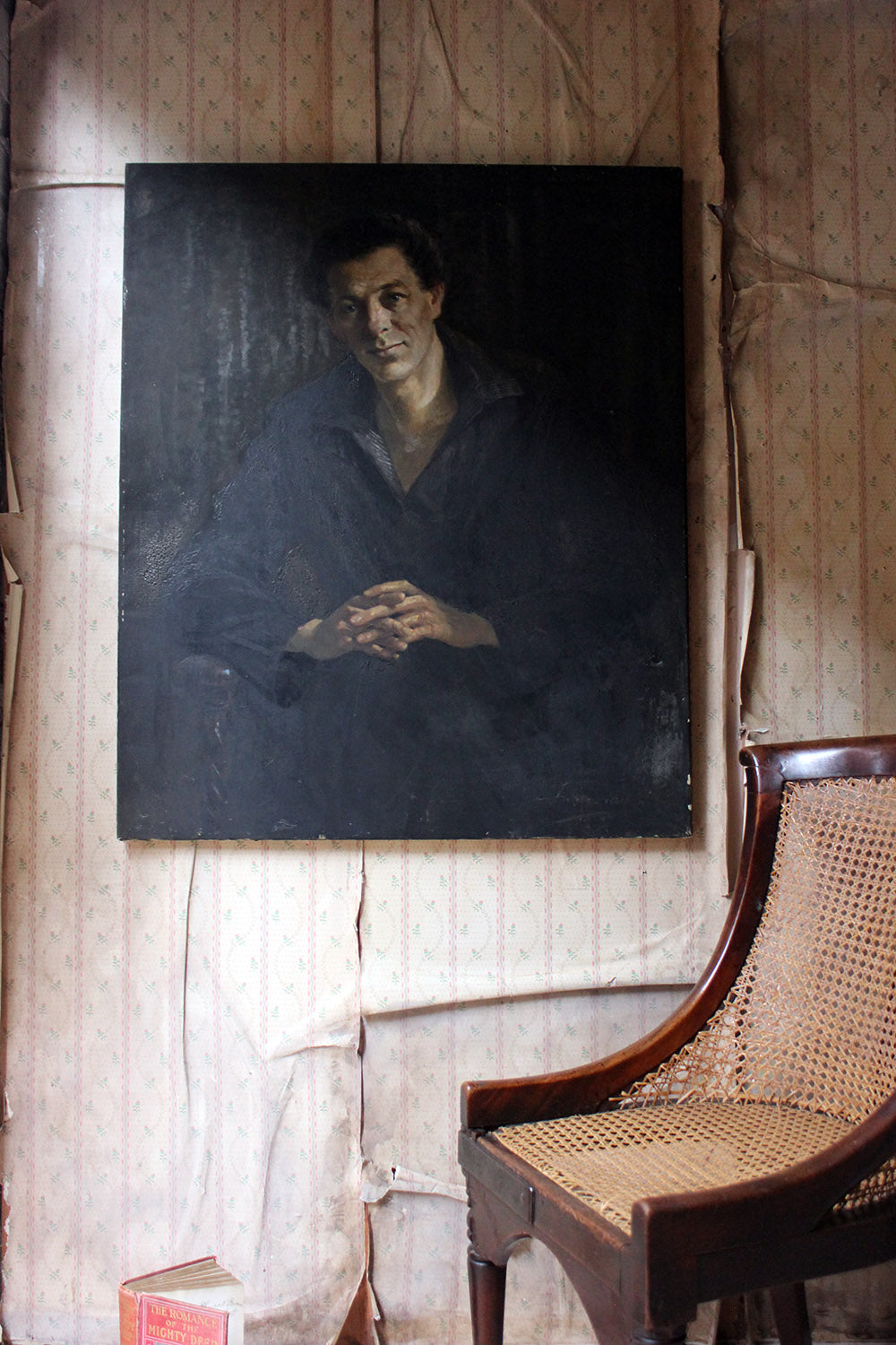 A 20thC French School Oil on Canvas Portrait of a Gentleman c.1935-55