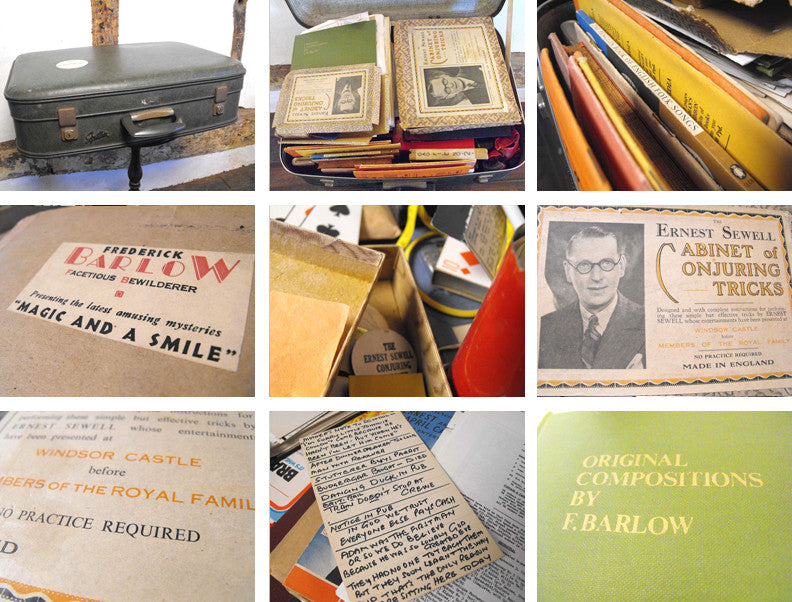 Frederick Barlow, 'The Great Barlow'; An Extensive Professional Collection of Vintage Magic, Humour & Entertainment