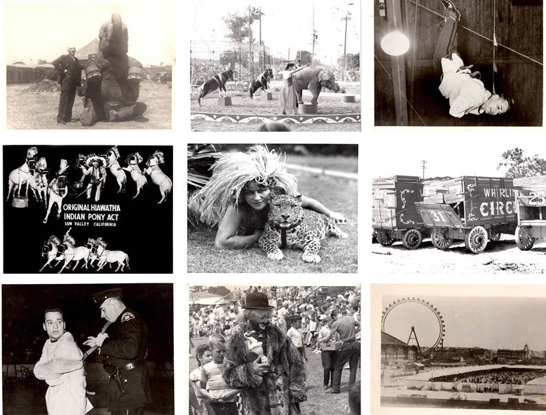 A Very Fine & Extensive Collection of American Circus Themed Photographs